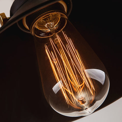 Image of Modern Nordic Industrial Hanging Lamp