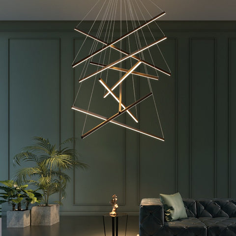 Image of Modern Staircase Chandelier