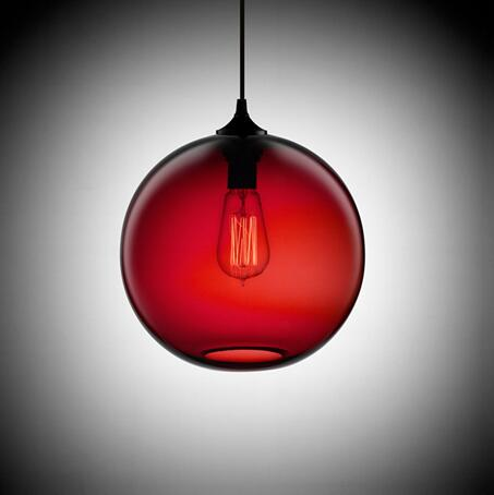 Image of Gia - Glass Dome Hanging Lamp