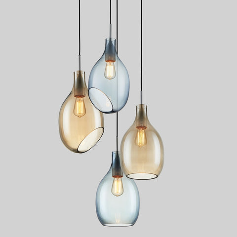 Image of Simple Post-Modern Glass Pendant Light - Minimalistic Decoration Lighting
