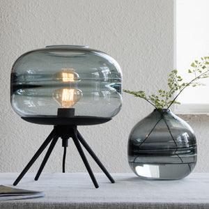 Wavelet Blown Glass Table Lamp