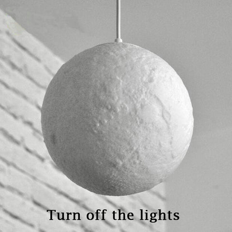 Full Moon 3D Hanging Lamp