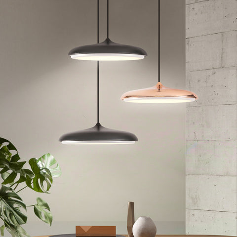 Image of Post-Modern Nordic Circular LED Hanging Lamps
