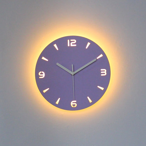 Image of Oriana - LED Back Light Silent Clock