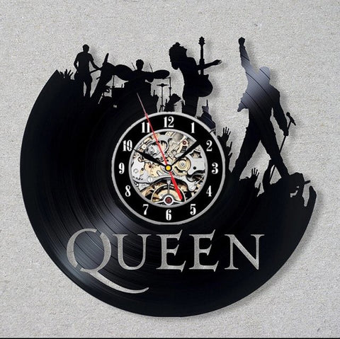 QUEEN  Vinyl Record Clock Home Decor Wall Art