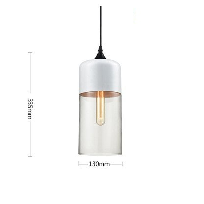Modern Nordic Glass Pendant Light