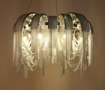 BLOSSOM Aluminum Chain Pendant Light - Luxurious Modern Chandelier