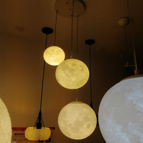 Image of Full Moon 3D Hanging Lamp