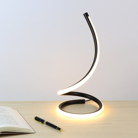 Image of Sansa - Dimmable Spiral Desk Lamp