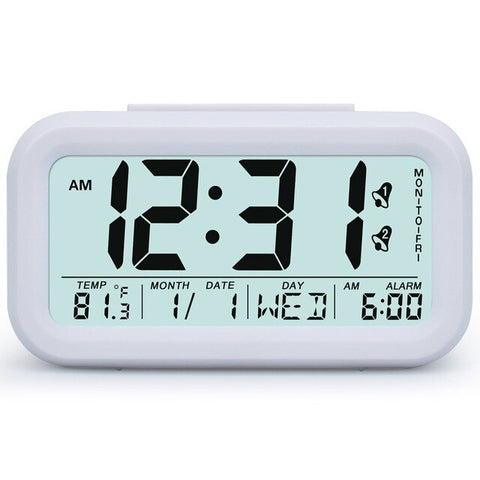 Image of Digital Alarm Clock Student Clock Large LCD Display