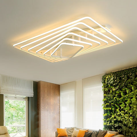 Image of Dilan - Modern LED Twist Layer Ceiling Light