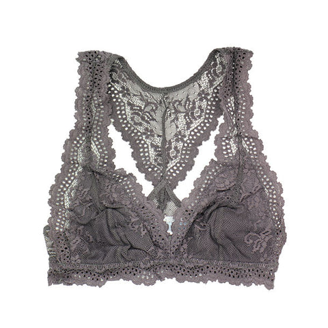 Eberjey Collette Racerback Bralet Pebble