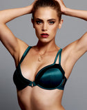 Love Haus Classy Couture Push Up Bra - Emerald