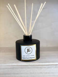 WHITE TEA & BERGAMOT Diffuser Black 7oz
