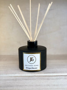 ORANGE BLOSSOM Diffuser Black 7oz