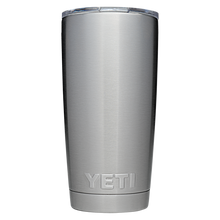 Load image into Gallery viewer, Yeti 20 oz Stainless Rambler