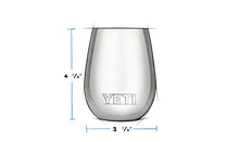 Load image into Gallery viewer, Yeti | Rambler 10oz. Wine Tumbler | Reef Blue