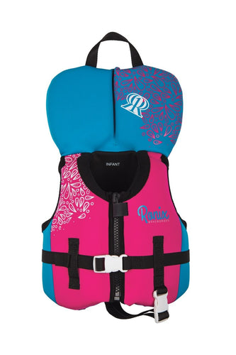 Ronix | August Infant Girl's USCGA Life Vest 0-30lbs | 2020