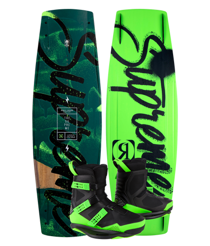 Supreme Wakeboard with Supreme Bindings | 2021