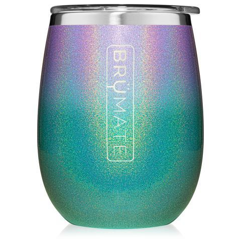 BRUMATE | Uncork'd XL 14 oz. Wine Tumbler | Glitter Mermaid