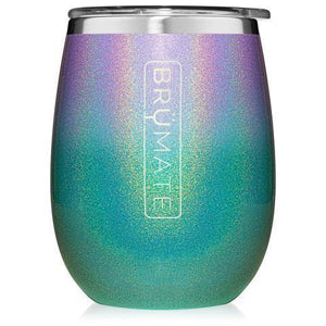 Uncork'd XL 14 oz. Wine Tumbler | Glitter Mermaid