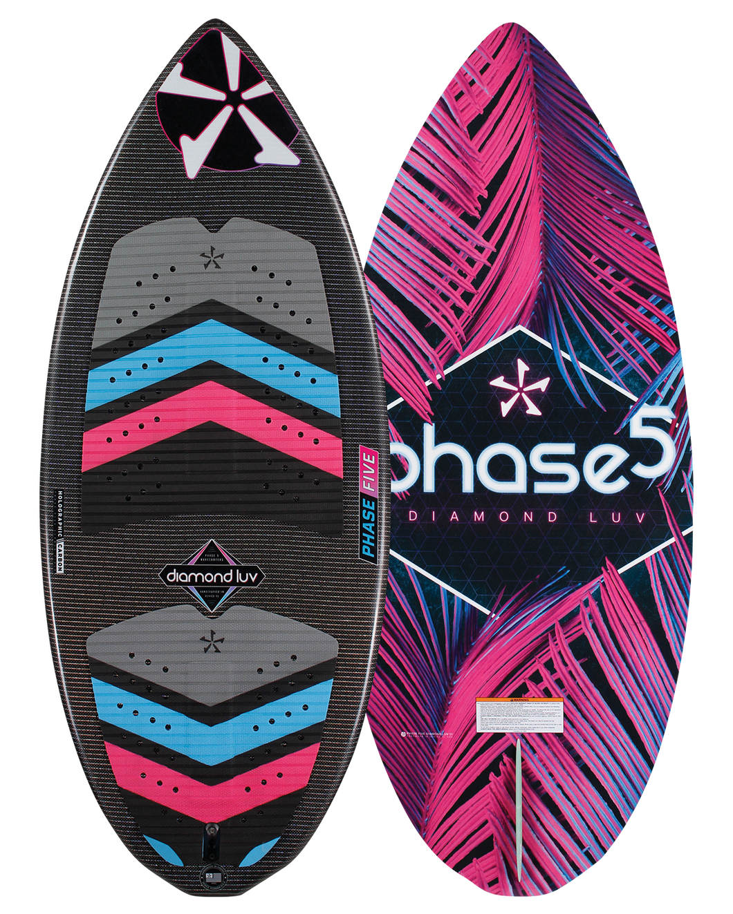 Phase Five | Diamond Luv Wakesurf Board | 2020