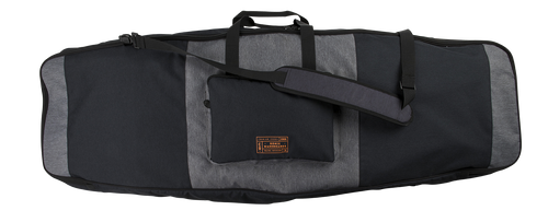 Ronix | Squadron Half Padded Board Case | Heather Charcoal - Orange