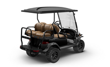 Load image into Gallery viewer, Metallic Tuxedo Black with Premium Camello Seats | Onward 4 Passenger | Lifted | High Performance FLA 48v | 2021