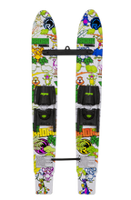 Load image into Gallery viewer, Firebolt Trainer Skis with Child Adjustable Bindings | Jungle Coloring Book
