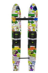 Radar | Firebolt Trainer Skis with Child Adjustable Bindings | Jungle Coloring Book