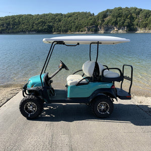 CLUB CAR | Metallic Ocean Teal | Onward 4 Passenger | Lifted | Gas | 2020