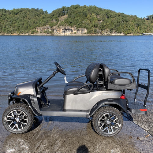 CLUB CAR | Metallic Platinum | Onward 4 Passenger | Lifted | Electric | 2020