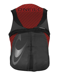 Oneill | Men's Reactor USCGA Vest | Graphite/Red