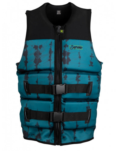 Supreme Yes Men's CGA Vest | Deep Teal Black Texture | 2021
