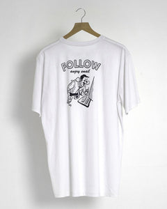FOLLOW | Angry Email Mens Tee