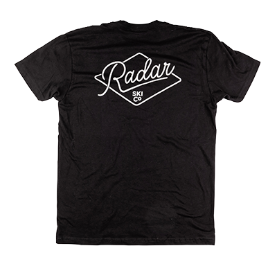 Radar | Branded Pocket T-Shirt | Black