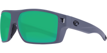 Load image into Gallery viewer, Diego Sunglasses | Matte Grey - Green Mirror 580P Lens