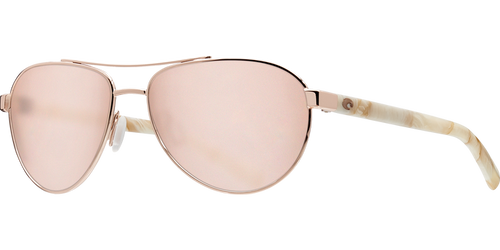 Costa | Fernandina Sunglasses | Shiny Rose Gold - Copper 580P Lens
