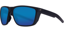 Load image into Gallery viewer, Ferg Sunglasses | Matte Black - Blue Mirror 580P Lens