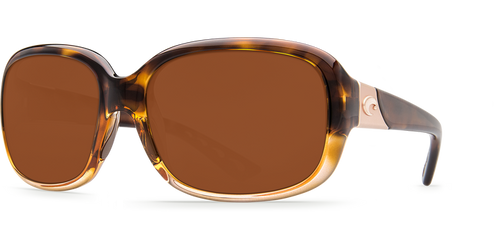 Costa | Gannet Sunglasses | Tortise Fade - Copper 580P Lens