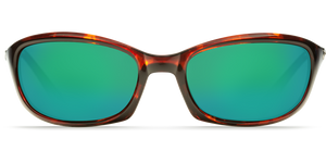 Harpoon Sunglasses | Tortise - Green Mirror 580G Lens