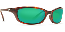 Load image into Gallery viewer, Harpoon Sunglasses | Tortise - Green Mirror 580G Lens