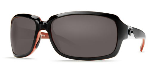 Costa | Isabella Sunglasses | Black Coral - Grey 580P Lens