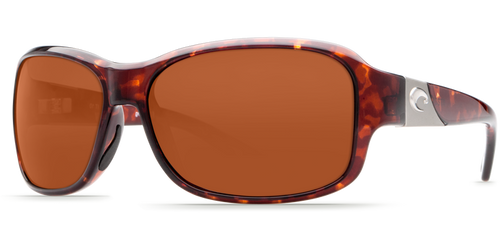 Costa | Inlet Sunglasses | Tortise - Copper 580P Lens