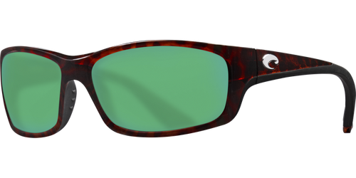 Costa | Jose Sunglasses | Tortise - Green Mirror 580G Lens