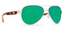 Load image into Gallery viewer, Costa | Loreta Sunglasses | Rose Gold - Green Mirror 580P Lens