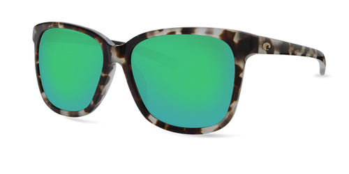 Costa | May Sunglasses | Shiny Tiger Cowrie - Gray 580G Lens