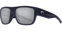 Load image into Gallery viewer, Costa | Sampan Sunglasses | Matte Black - Grey Silver Mirror 580G Lens