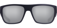 Load image into Gallery viewer, Sampan Sunglasses | Matte Black - Grey Silver Mirror 580G Lens