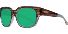 Load image into Gallery viewer, Waterwoman 2 Sunglasses | Shiny Ocean - Jade Copper 580P Lens